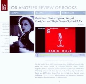 LARB Radio ME & Clarice